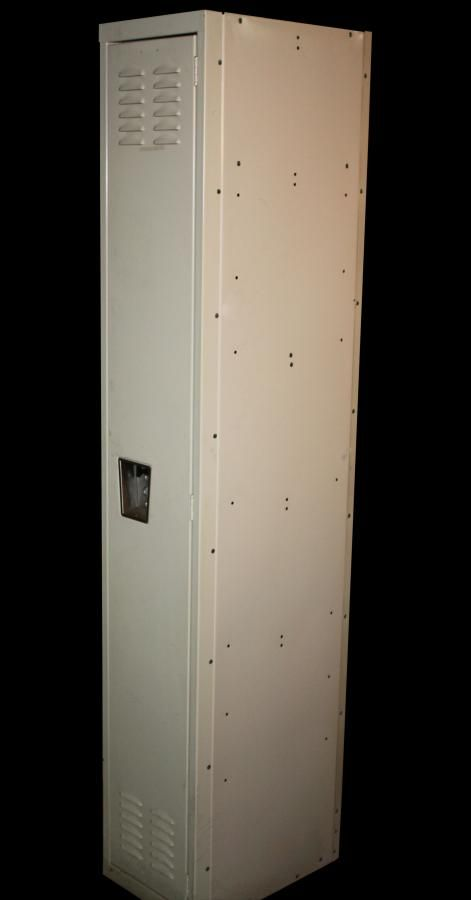 single modern steel locker: architectural salvage online store