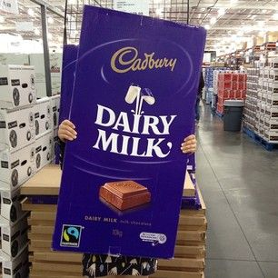 Cadbury Dairy Milk Chocolate Giant Kg Bar