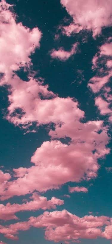Pink Clouds Estetika Langit Fotografi Langit Pemandangan Abstrak Clouds wallpaper iphone aesthetic awan