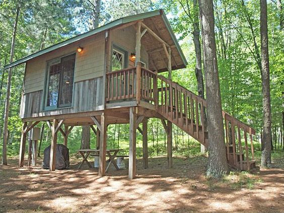 eau claire river tiny house 4 chalets Pinterest Lakes House