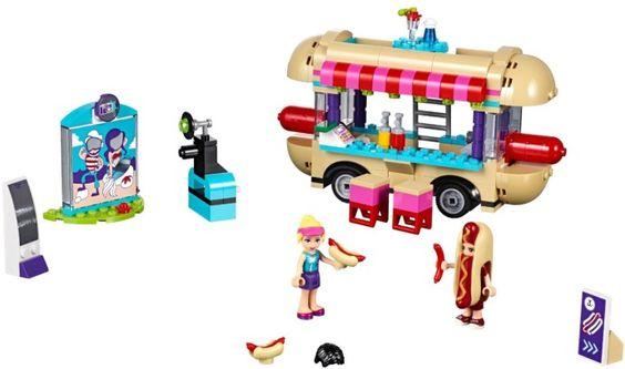 Friends Hot Dog Van