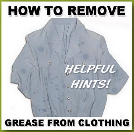 how to get grease stains out of cotton sheets