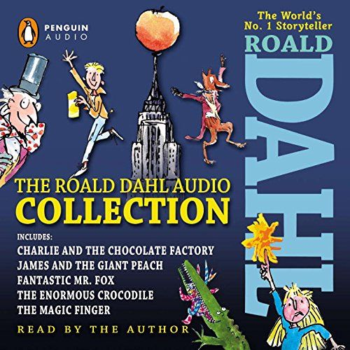 The Roald Dahl Audio Collection: Includes Charlie and the Chocolate Factory, James & the Giant Peach, Fantastic M r. Fox, The Enormous Crocodile & The Magic Finger by Roald Dahl http://www.amazon.com/dp/1611761956/ref=cm_sw_r_pi_dp_vrlTvb0QV61EX