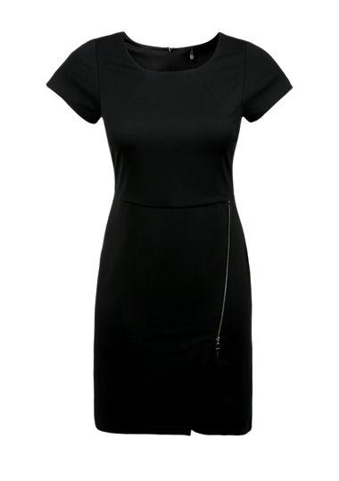Stretch-Kleid in Wickel-Optik