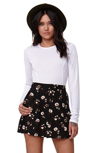 Kendall & Kylie Long Sleeve Cropped T-Shirt #kandk4pacsun