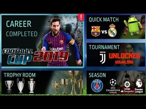 Football Cup 2019 Offline Unlocked Android Game Download Apk Mod