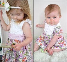 Little Girls' Dresses Tut