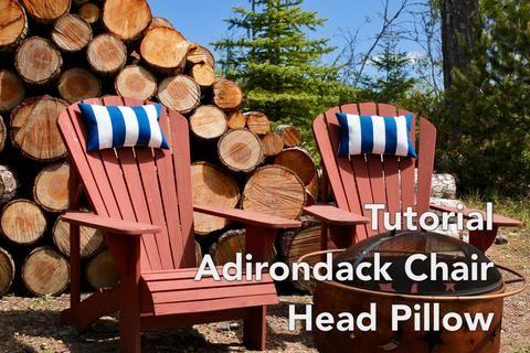 Adirondack Chair Headrest Pillow