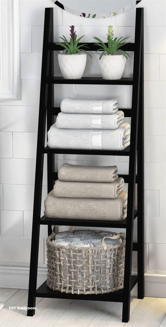 Aufbewahrung Handtucher Aufbewahrung Handtucher Zuhause Diy Dekor
