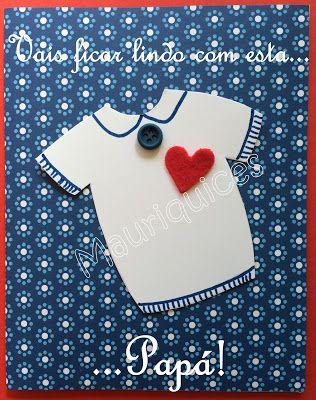 Mauriquices: Vais ficar lindo com esta t-shirt, Papá!