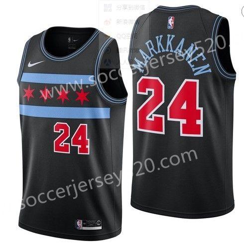 Chicago Bulls #24 City Version Black NBA Jersey   Nba bulls, Nba