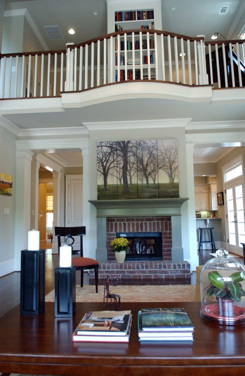 Southern Living Family Room Decor: Balconies, Southern Living And Family Rooms On Pinterest