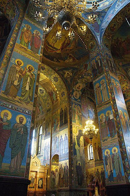 The Cathedral of the Resurrection of Christ (Church of the Saviour on the Spilled Blood), St Petersburg, Russia by Jane Drumsara