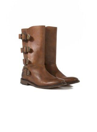 Hudson Lock Boots - Brown   Hudson Boots