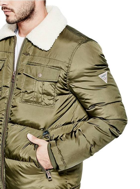 Michael Puffer Jacket | GUESS