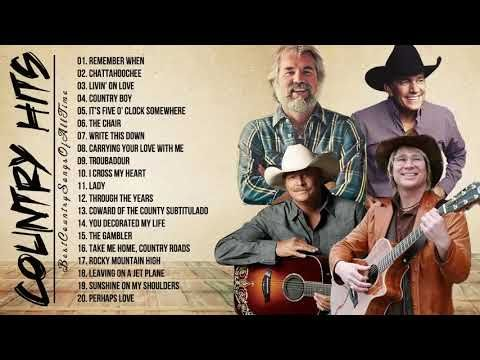John Denver Kenny Rogers Alan Jackson George Strait Greatest