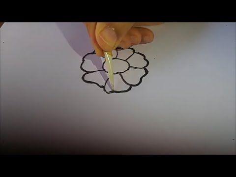 تعلمي نقش الحناء في ثلاث دقائق اسهل طريقة لتعلم نقش الحناء للمبتدئات Home Decor Decals Henna Tattoo Henna
