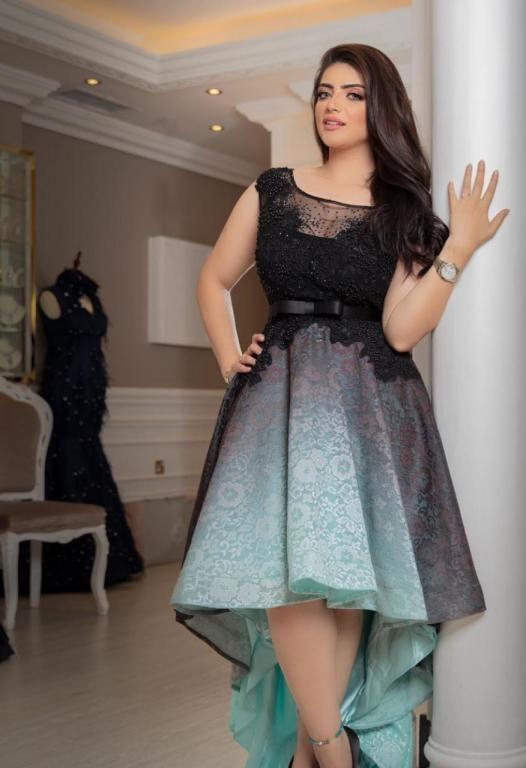 استوحي فساتين سهرات من إيمان جمال مجلة سيدتي تأنقت الفنانة إيمان جمال بالعديد من الفساتين المميزة في إطلالاتها عبر حسابها الر High Low Dress Dresses Fashion