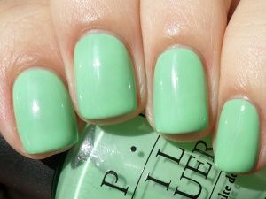 hey get in lime #OPI