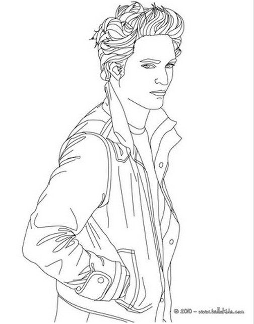 Twilight Coloring Pages Coloring Pages People Coloring Pages Artist Sketches