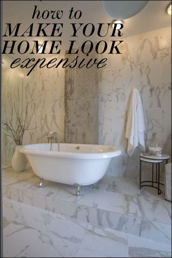 How To Make Your Home Look Expensive @shopmissiontile