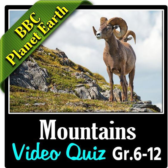 planet earth mountains video quiz editable earth first page and planet earth. Black Bedroom Furniture Sets. Home Design Ideas