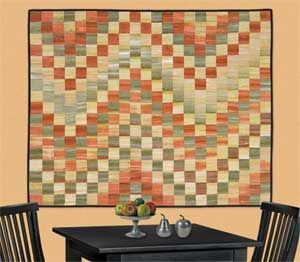 This quilt would be great in Japanese Taupes.