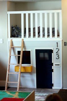 Kinderbett-Haus