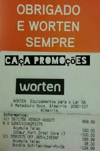 Promoções - Dupla acumulação Worten até + de 88% desconto! - http://www.parapoupar.com/promocoes-dupla-acumulacao-worten-ate-de-88-desconto/