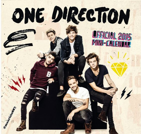 one direction ,calendar, 2015 - One Direction Photo
