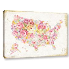 'Midsummer USA' by Danhui Nai Painting Print on Wrapped Canvas