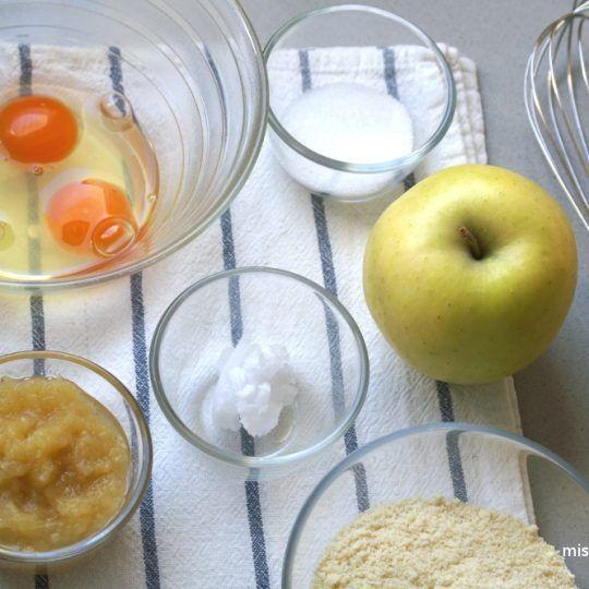 Tarta De Manzana Sin Harina Y Sin Azúcar Miss Blasco Receta Tarta De Manzana Tartas Manzana