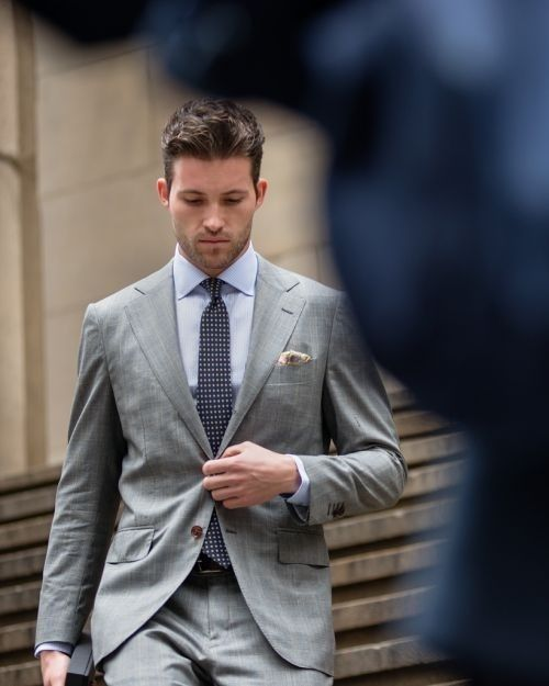Men's Fashion and Style - Grey Suit | Shades of Grey - Men's Suits