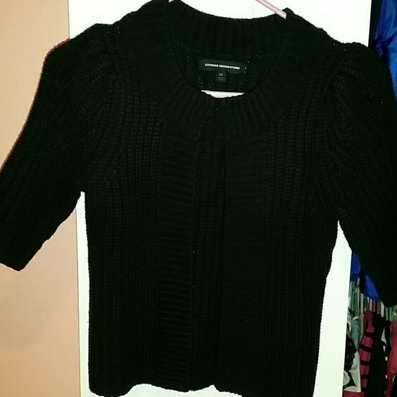 Express cardigan. Worn only once. No signs of wear or stains. Material is acrylic and wool. Express Sweaters Cardigans