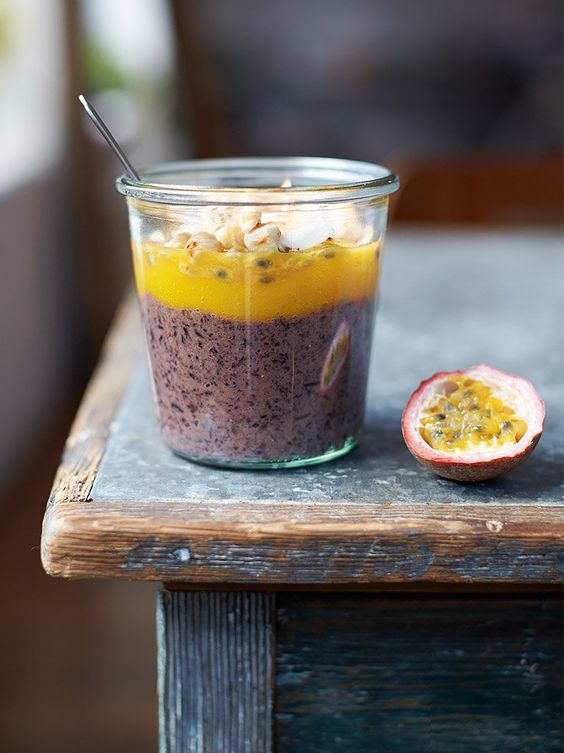 Black rice pudding. Black rice or 'forbidden rice' was once a speciality only fit for Emperors. Now we can all eat like Emperors! Jamieoliver
