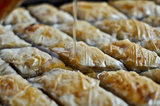Baklava - pretty darn easy to make and totally yummy!