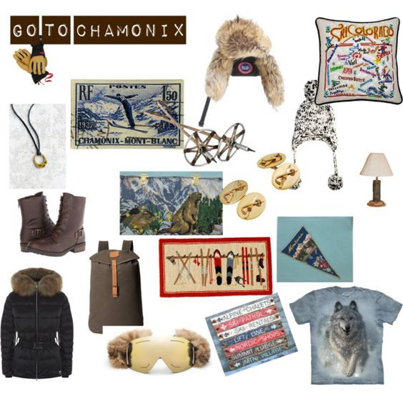 GO TO CHAMONIX by sophie-panthere on Polyvore featuring mode, M. Miller, White Mountain, FjÄllrÄven, Urban Renewal, Canada Goose, Eugenia Kim, The North Face, Catstudio and Soicher Marin