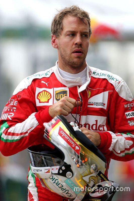 Sebastian Vettel, #5, Ferrari, taken 3/19/2016, Australian GP, Saturday Qualifying, Albert Park circuit.   Motorsport.com.   Re-pinned