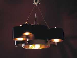 Modern Contemporary White Fabric Shade Pendant Ceiling Lamp WHI4020