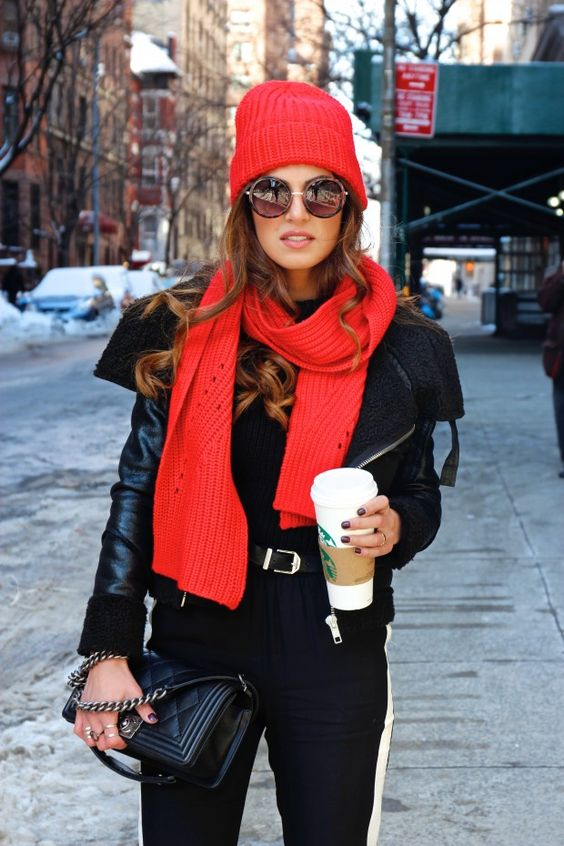 Red in New York | Negin Mirsalehi