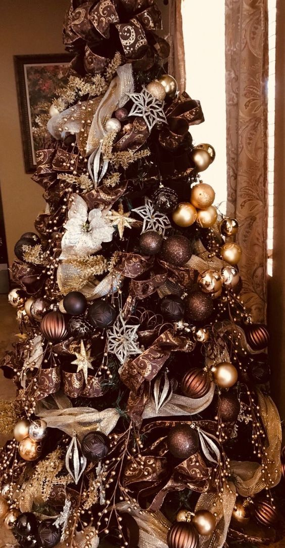 40 Best Christmas Tree Decor Ideas Inspirations For 2020 Elegant Christmas Trees Cool Christmas Trees Christmas Tree Themes