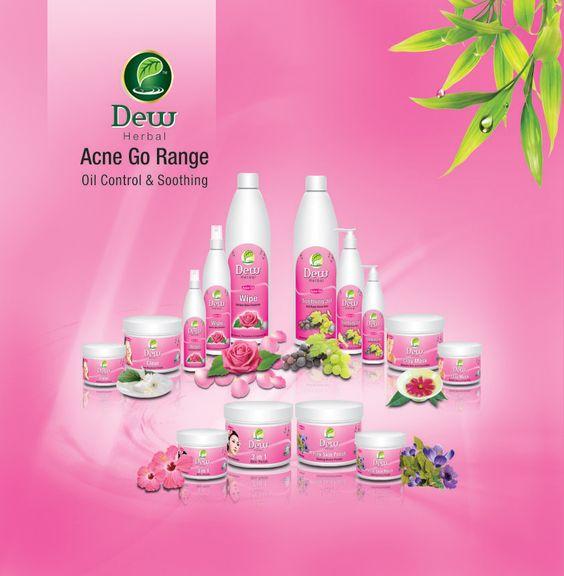 Dew Herbals Skincare Acne Go Range!