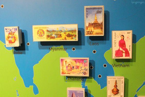 Nếu có dịp du lịch Singapore bạn hãy đến số 23B đường Coleman, ghé thăm bảo tàng Tem Singapore.