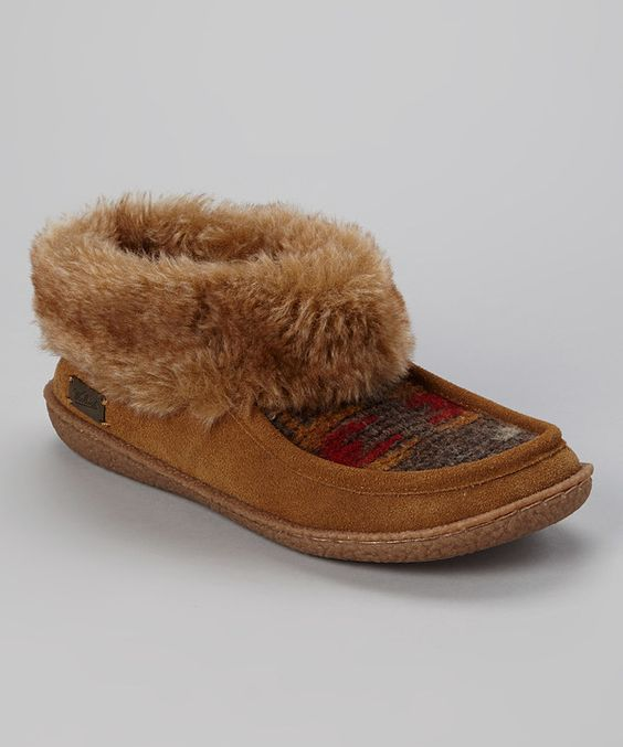 Take a look at this Woolrich Chicory Autumn Ridge Slipper - Women on zulily today!