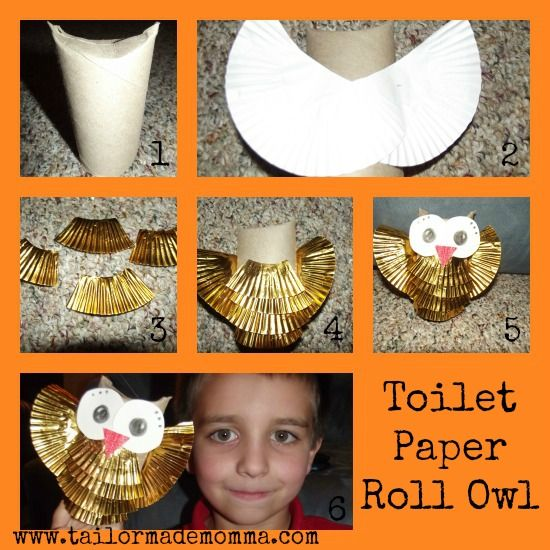 Recycled crafts toilet paper rolls and toilet paper on for Things to do with empty toilet paper rolls