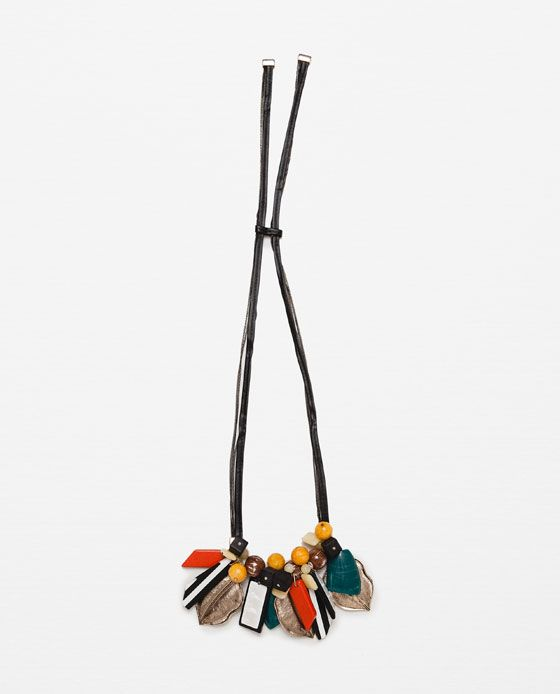 Imagem 1 de COLAR PEDRAS COR da Zara