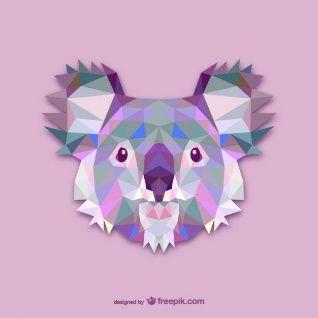 Conception triangle de koala