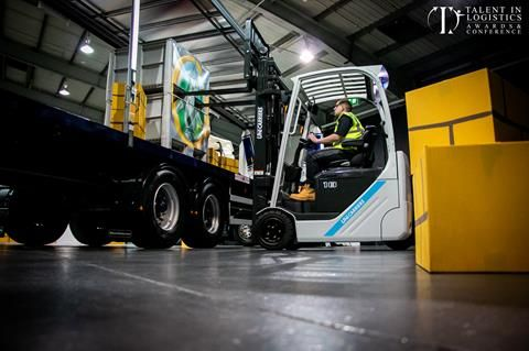 Talent In Logistics Announce Details Of The Forklift Operator Of