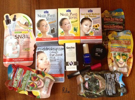 Consigli di Makeup: CosmoHaul - Cerottini Asiatici, Maschere, Color Cl...