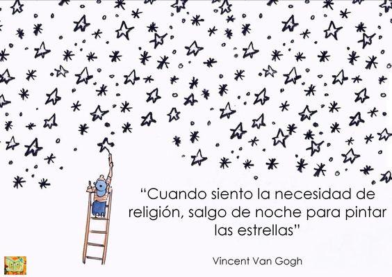 Vincent Van Gogh: Cuantas Palabras, Flor De, Stars, Of The, Vincent Van Gogh, Quotes Phrases, Great Phrases, Pintar Estrellas